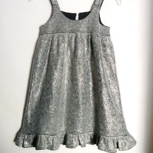YOUTH GIRLS Shift Strap DRESS, Raffles Hem.